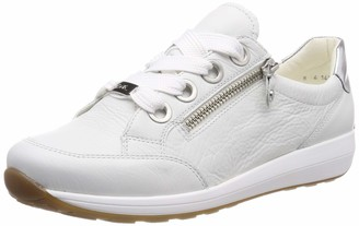 ara Women's Osaka 1234587 Low-Top Sneakers White (Weiss Silber 07) 2.5 UK