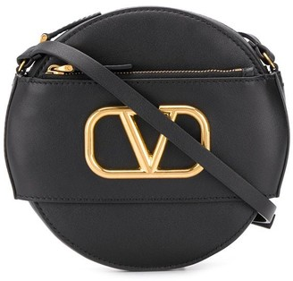 Valentino VLOGO circular cross-body bag