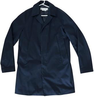 Marni Navy Cotton Coats
