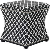 Eichholtz Austin Stool Black & White Diamond