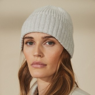 The White Company Wool-Mix Ombre Hat , Grey, One Size