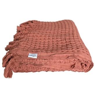 House Of Jude Piccola Waffle Blanket Cinnamon