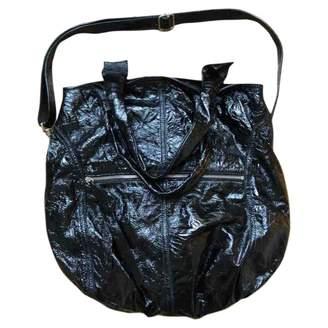 Elena Ghisellini Black Patent leather Handbags