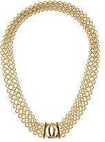 Cartier 18K Logo Collar Necklace