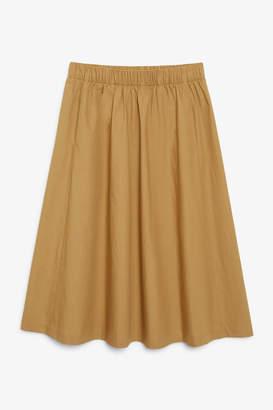 Monki Flowy midi skirt