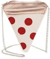 Capelli of New York Girl's 'Pizza' Crossbody Bag - Yellow