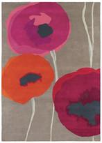 Sanderson Poppies Red/Orange Rug - 140x200cm