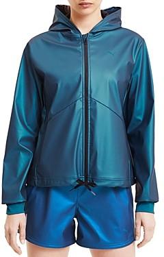 Puma Train Warm Up Coated Knit Jacket