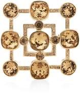 St. John Swarovski Crystal Pin