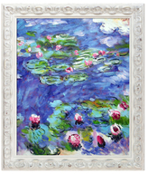Water Lilies by Claude Monet (Canvas)