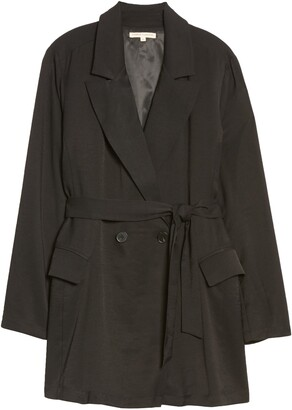 Standards & Practices Belted Blazer