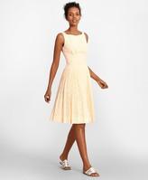 Brooks Brothers Cotton Eyelet Dress