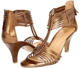 Nine West BugOut (Bronze Synthetic) - Footwear