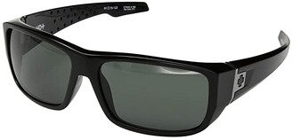 Spy Optic MC3 (Black/HD Plus Gray Green) Athletic Performance Sport Sunglasses