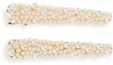 Tasha Set Of 2 Imitation Pearl Hair Clips