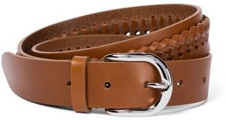 Isabel Marant Zadi braided leather belt