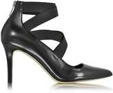 Michael Kors Viva Black Leather Pump