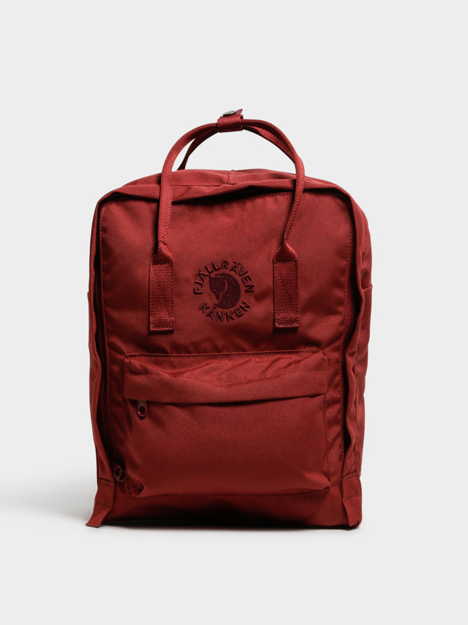 Fjallraven Re-Kanken Backpack in Ox Red