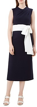 Hobbs London Thao Belted Dress