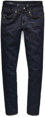 G-STAR Midge Mid Rise Straight Leg Jeans