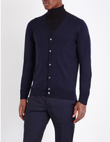 John Smedley Merino wool button-up cardigan