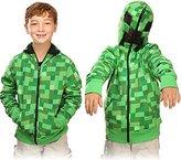 "Minecraft Creeper Premium Zip-Up Youth Hoodie (for kids 53""-57"")"