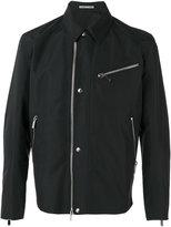 Christian Dior zip up jacket - men - Polyester/Cupro - 48
