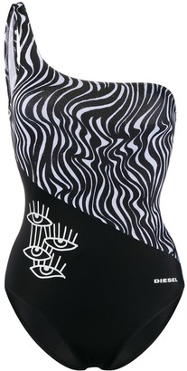 Diesel Digital Print Swimsuit