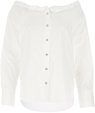 Kenzo Frilled Collar Blouse