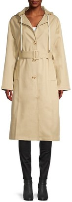 Thakoon Hooded Trench Coat