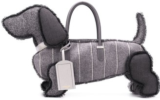 Thom Browne Solid Tweed Hector bag