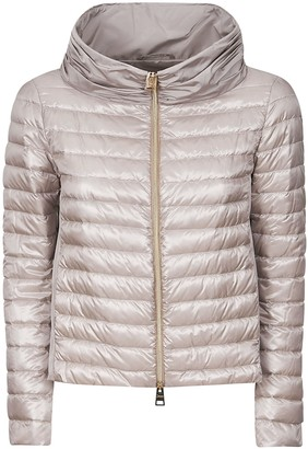 Herno Zipped Classic Hooded Padded Reversible Jacket