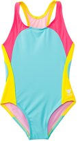 TYR Girls' Solids Splice One Piece Swimsuit (4yrs16yrs) - 8127012