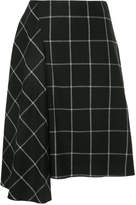 ASTRAET draped grid skirt