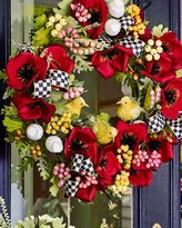 Mackenzie Childs MacKenzie-Childs Poppy Wreath