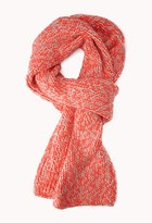 Forever 21 Comfy Cable Knit Scarf