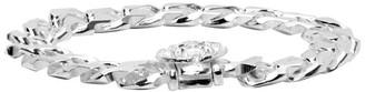 Emanuele Bicocchi SSENSE Exclusive Silver Cuban Chain Bracelet