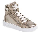 MICHAEL Michael Kors Girl's 'Ivy Rory' High Top Sneaker