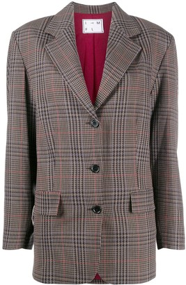 In The Mood For Love Plaid Single-Breasted Blazer
