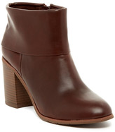 BC Footwear Band Cuffed Ankle Boot