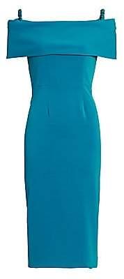 Catherine Regehr Women's Off-The-Shoulder Sheath Dress