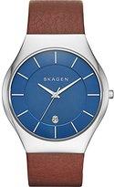 Skagen Men's SKW6160 Grenen Dark Brown Leather Watch