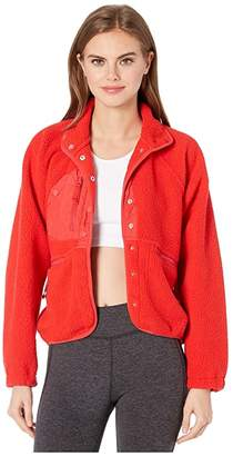 Fp Movement FP Movement Hit The Slopes Jacket (Red) Women's Jacket