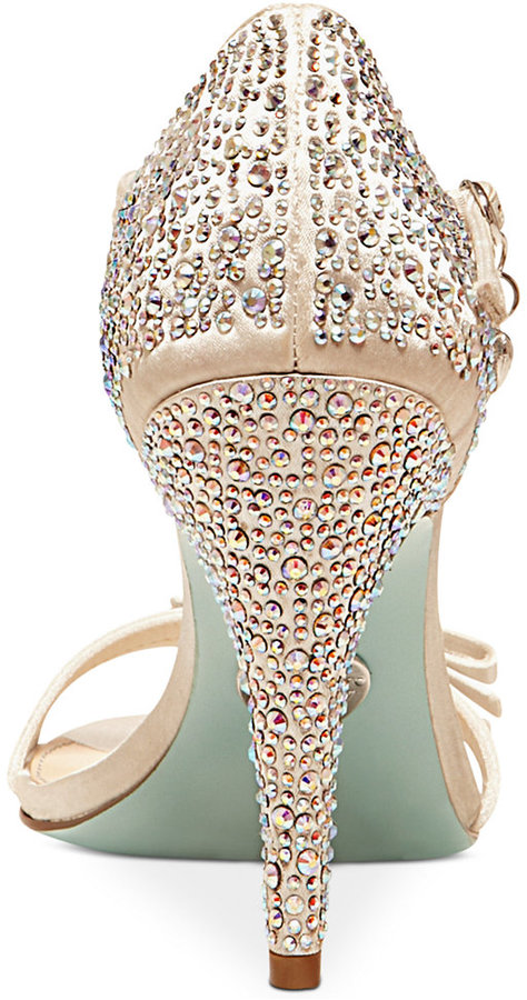 Betsey Johnson Blue by Bow Evening Sandals