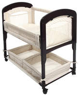 Arms Reach Arm's Reach Cambria Wood CV Quilted Co-Sleeper