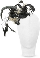 Nana Nana' Cilla - Black and White Flower Comb