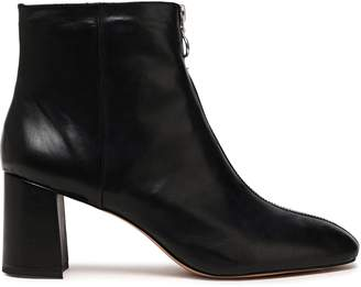 Rebecca Minkoff Zip-detailed Leather Ankle Boots