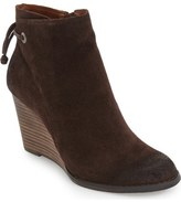 Lucky Brand 'Yamina' Wedge Zip Bootie (Women)