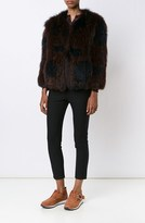 Derek Lam Knitted Fur Coat