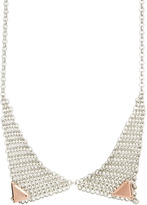 Asos Mesh Chain Tip Necklace